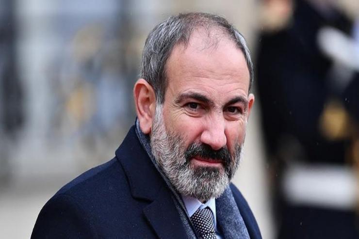 Nikol Paşinyan, Ermənistanın baş naziri