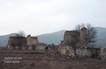 Ağdamın Xıdırlı kəndi